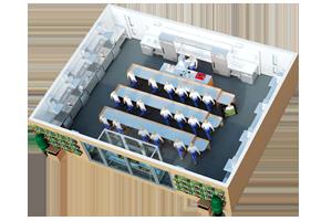 Modular Teaching Kitchen