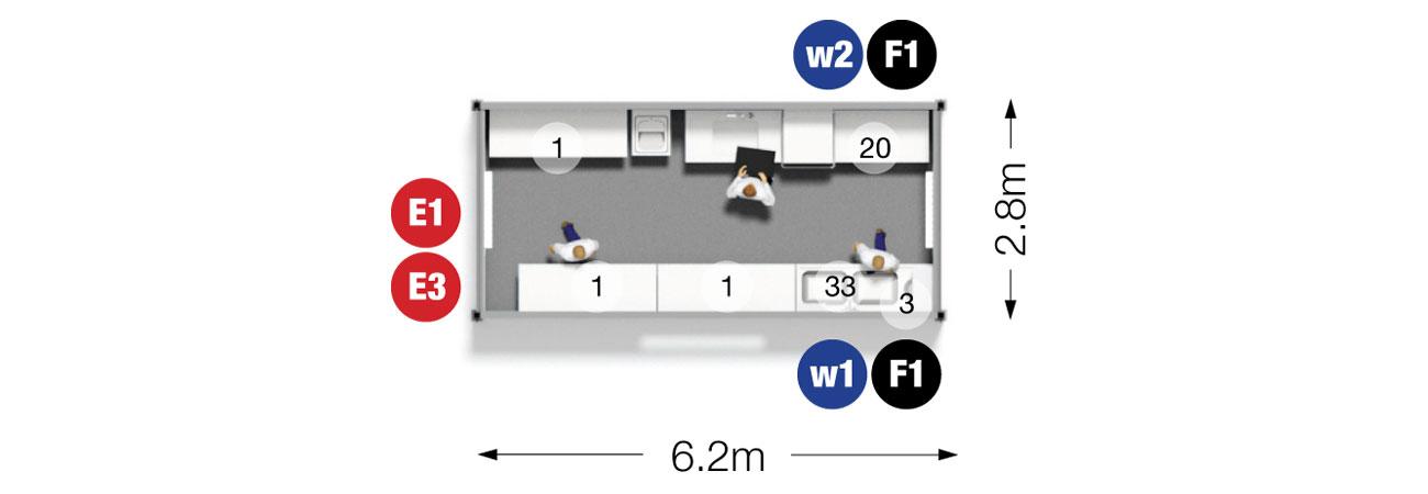 Aquarius Dishwash Unit Plan