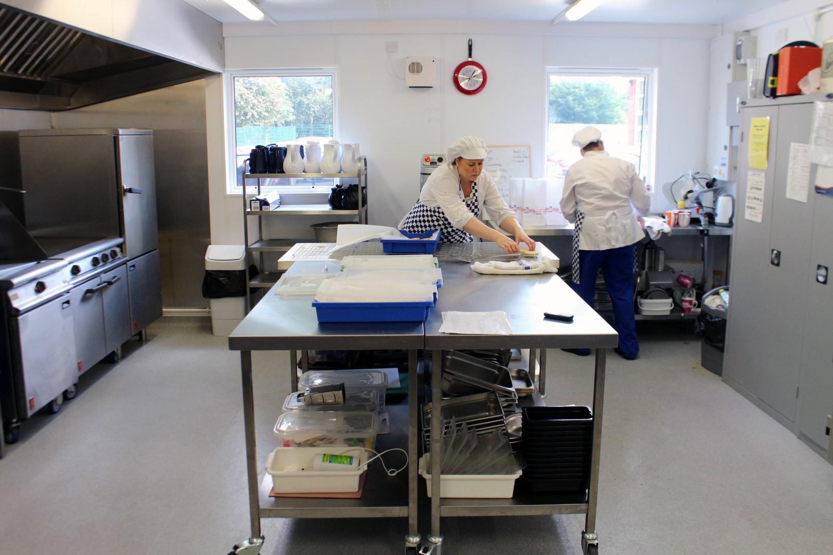 KitchenPod at Bentley Road primary school