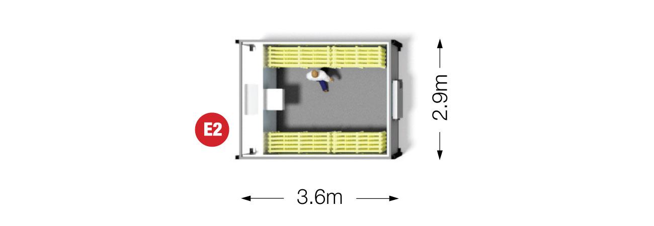 Portable Coldroom 3.6m