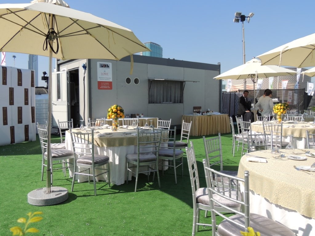 Dubai Food Carnival Temporary Kitchen