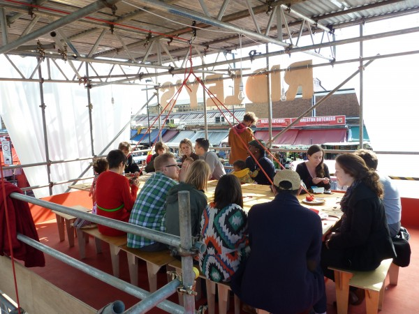 Decorators pop up restaurant
