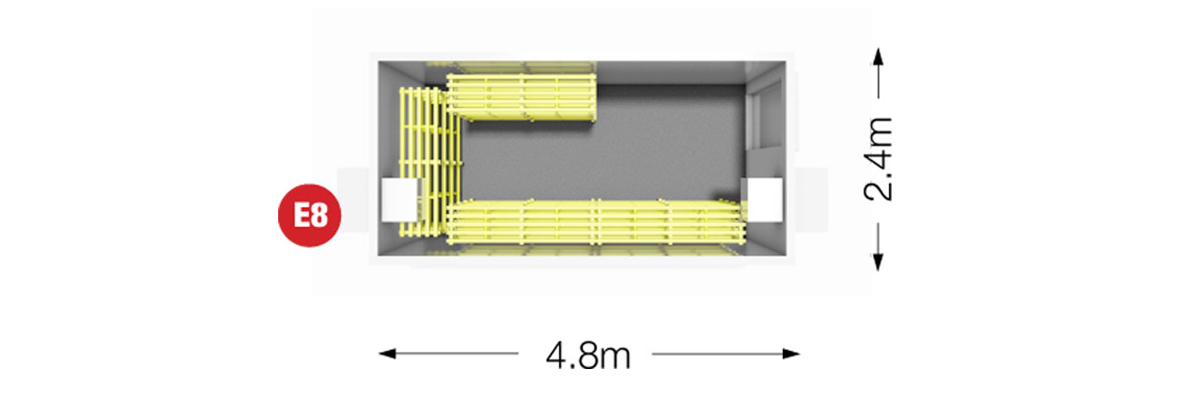 Example Flat Pack Coldroom