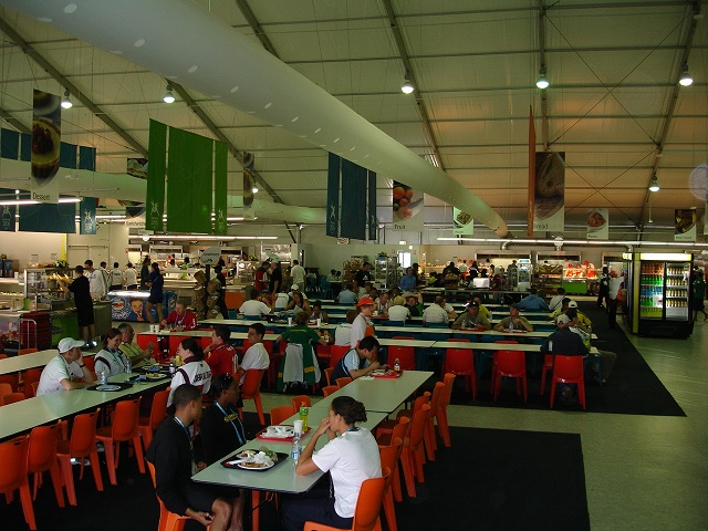Melbourne Commonwealth Games Athletes Dining