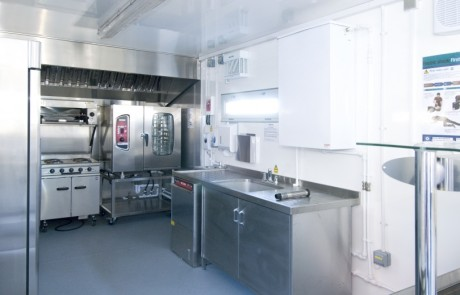 Babcock Marine Mobile Galley Kitchen