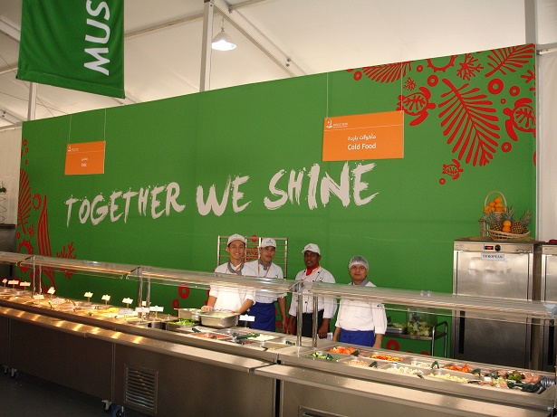 Muscat Asian Beach Games Athletes Village Kitchen and Dining