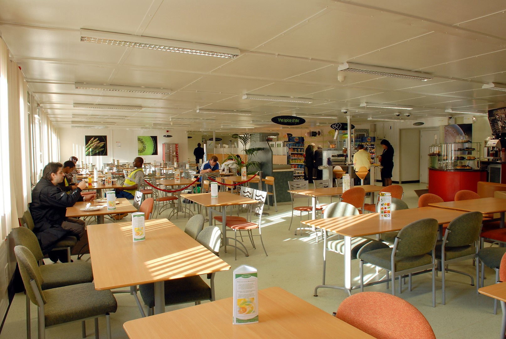 Temporary Kitchen And Restaurant At North Middlesex Hospital