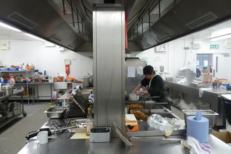 Reaseheath Temporary Kitchen
