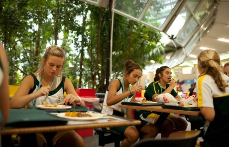 Singapore Youth Olympics Athletes Village Kitchen and Dining