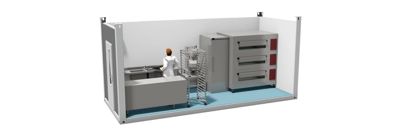 TW1000 Modular Bakery