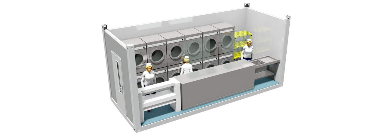 Modular Laundry Units Delivered Around The World
