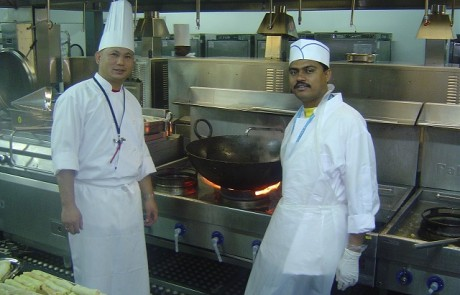 Doha Asian Games Temporary Kitchen and Dining