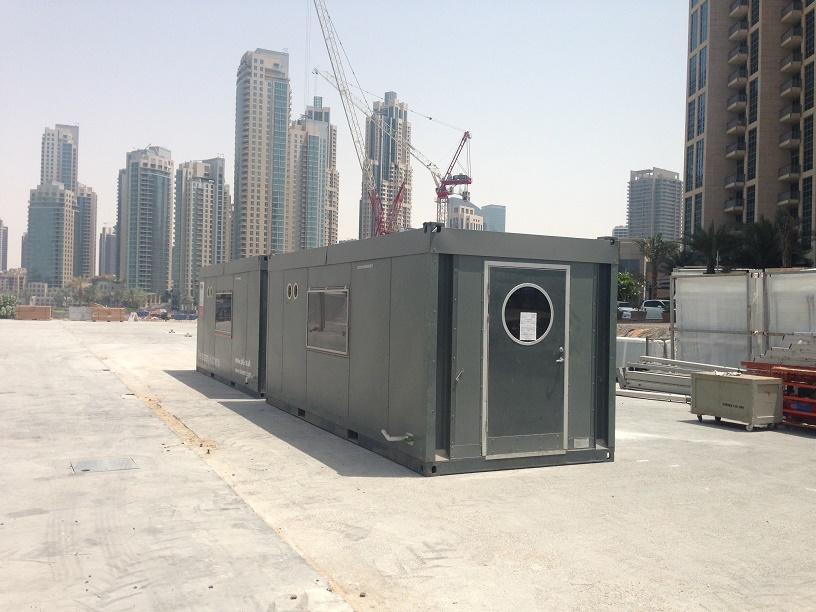 Temporary kitchens in Dubai