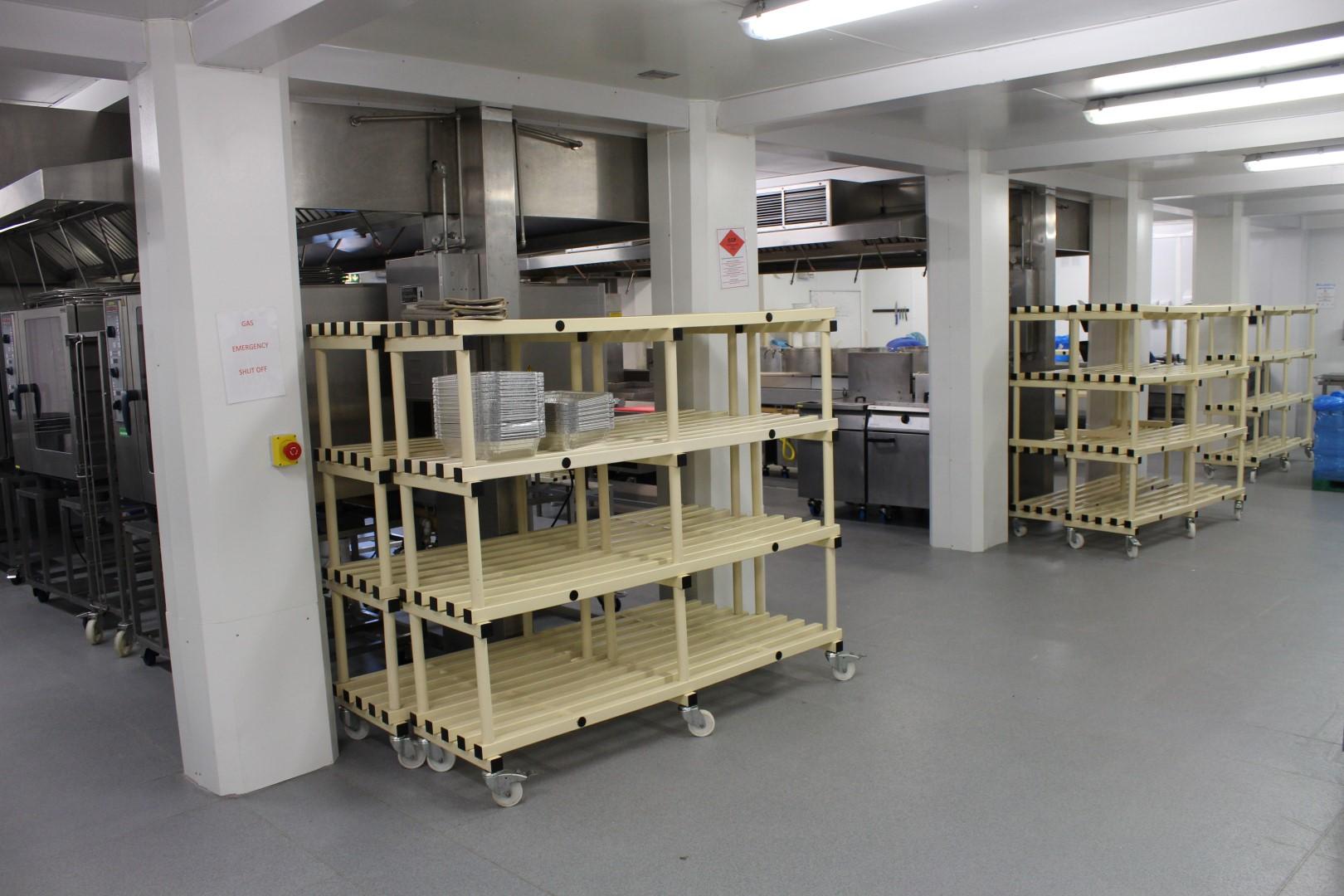 Temporary Development Kitchen at Food Manufacturer