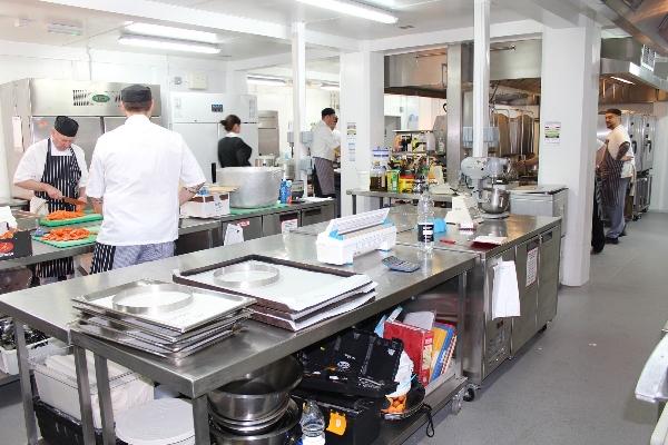 New College Oxford Temporary Kitchen