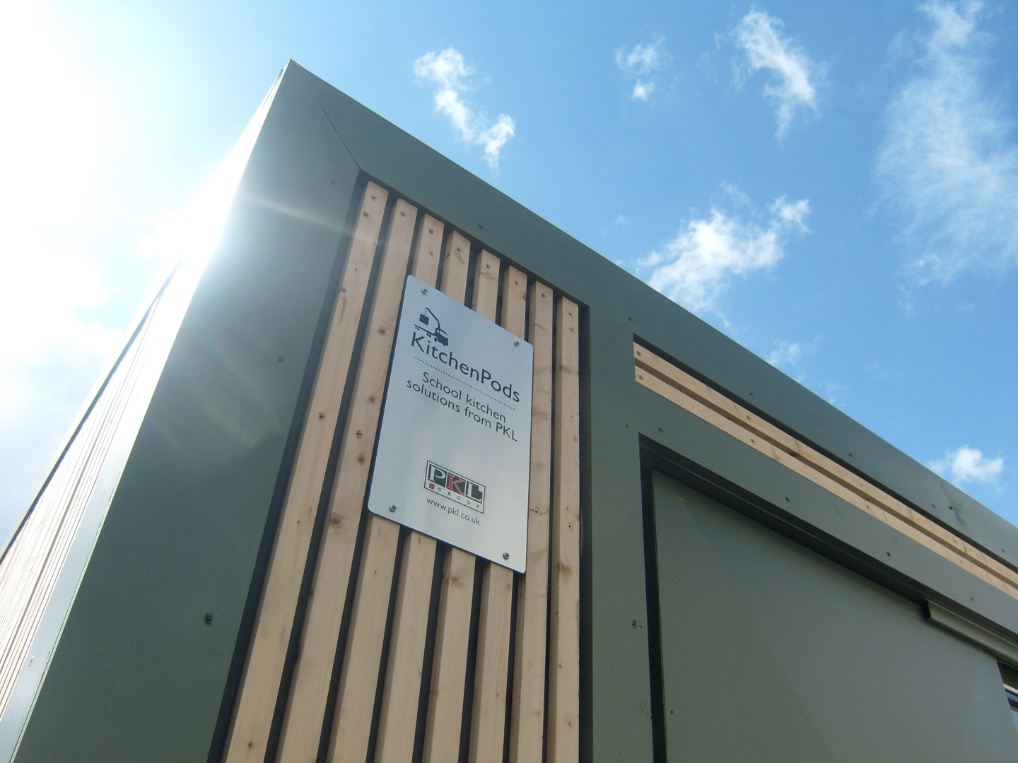 Modular KitchenPods for Northamptonshire County Council