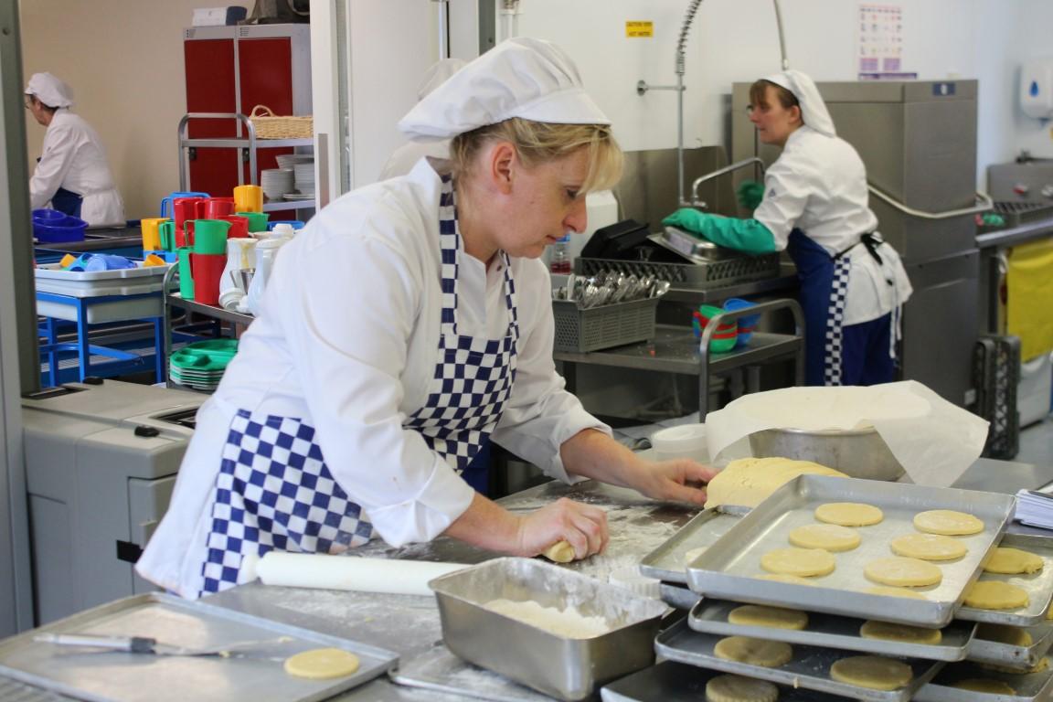 KitchenPod internal view in use