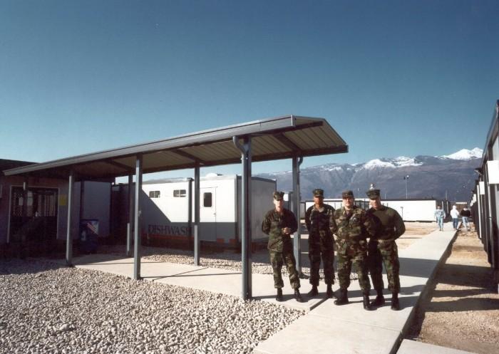 DFAC Kitchens US Army