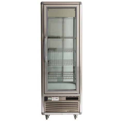 Four Sided Glass Display Cabinet for Hire