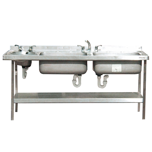 Double Bowl Sink 1800mm for hire.