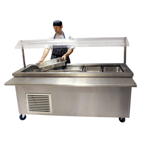 Refrigerated Servery 1900mm for hire.