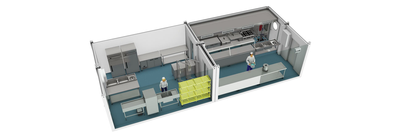 Proven Package 14 Temporary Kitchen