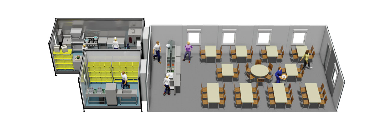 Proven Package 3 Temporary Kitchen and Dining