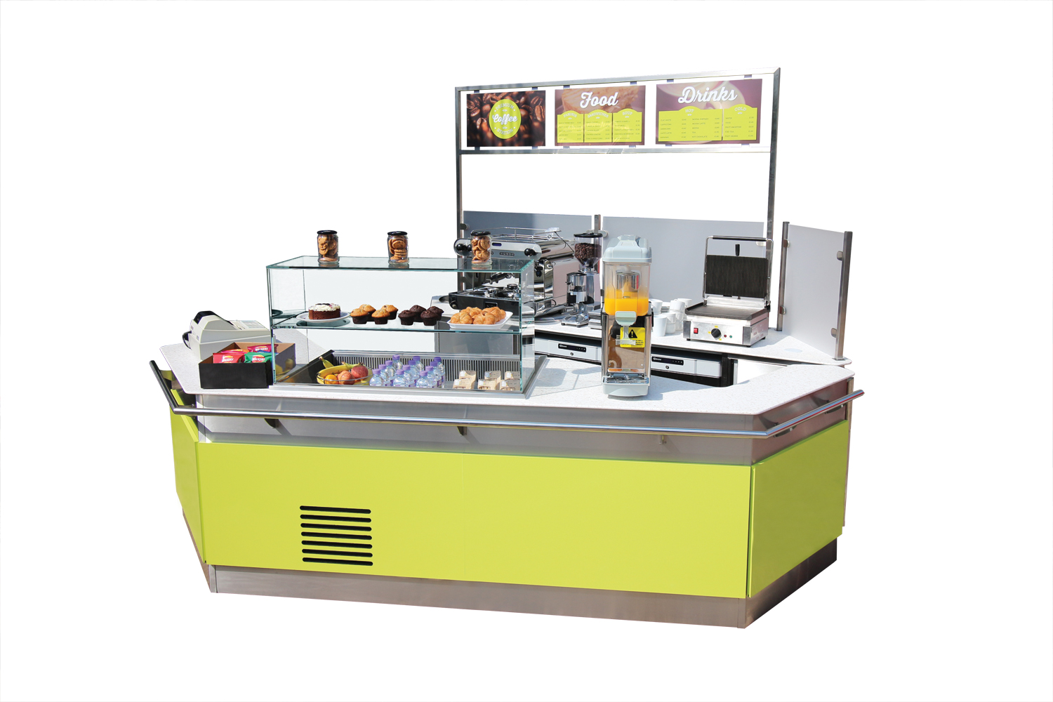 The Space Station Instant Modular Cafe To Hire Or Buy