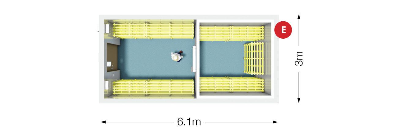 Storage Pod Plan View