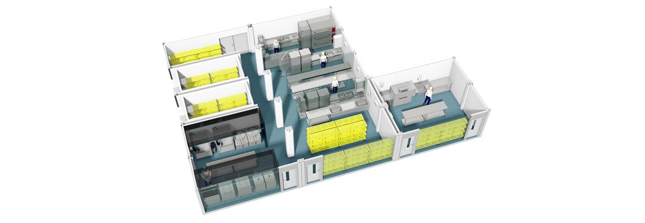 TW1000 Modular Kitchen Facility
