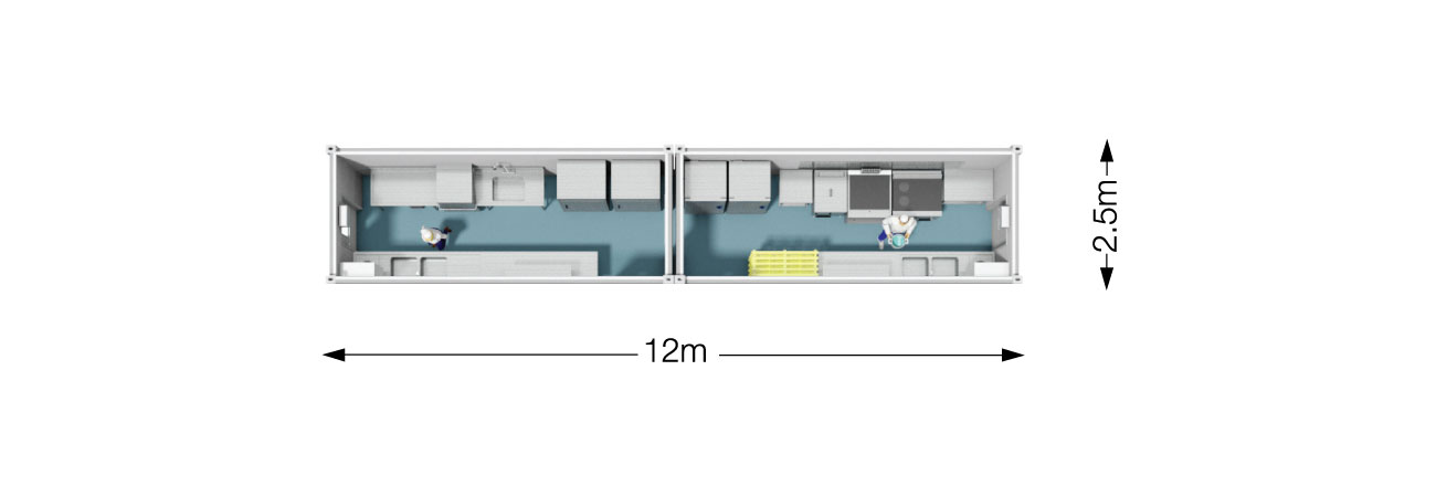 TW 200 Modular Kitchen Plan
