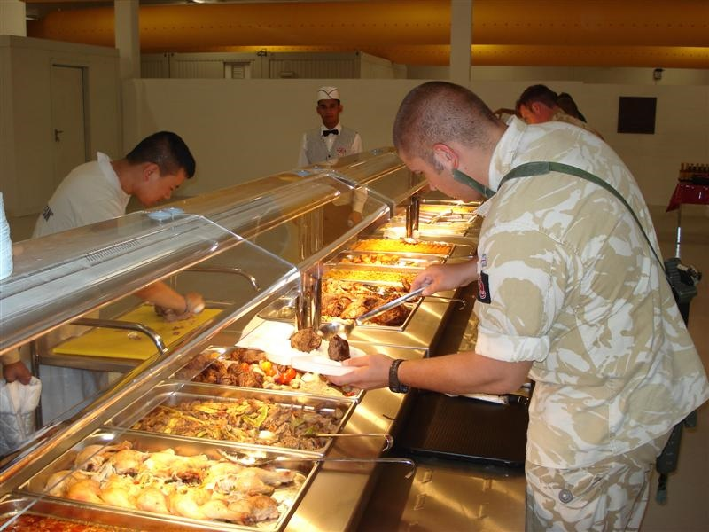 Kitchens for US Army in Basra
