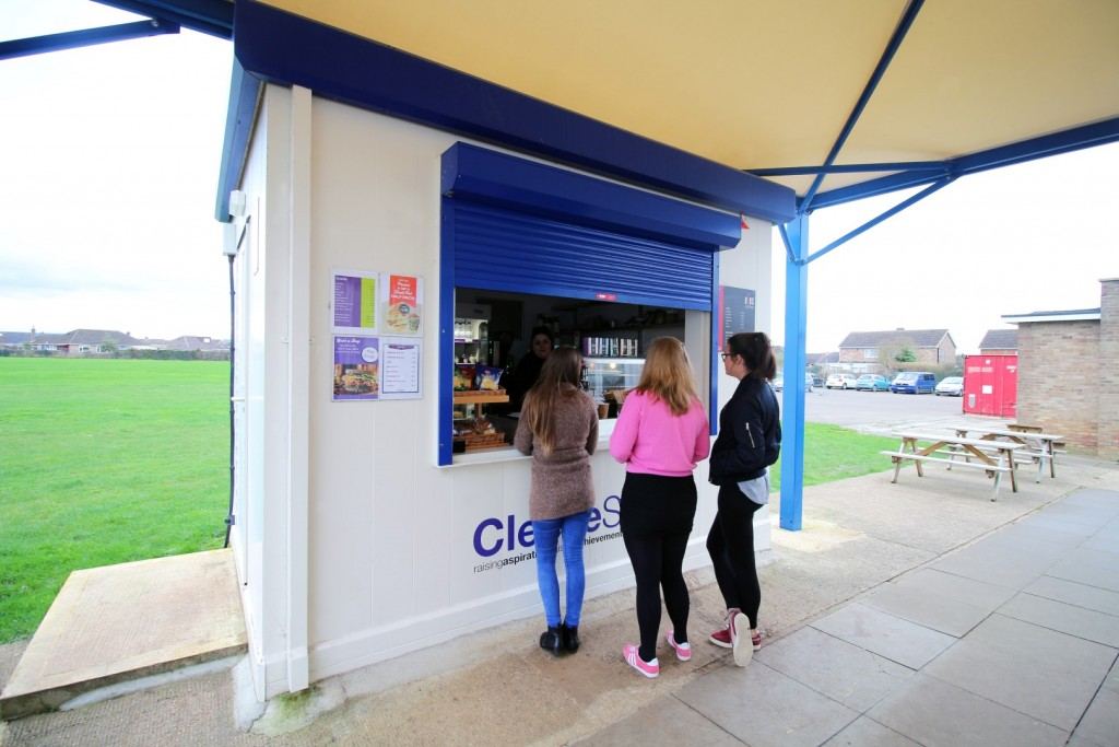 Food Cube at Cleeve School