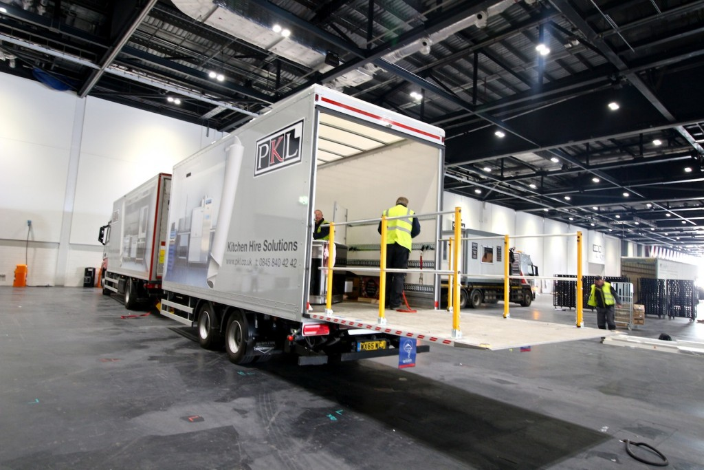 Delivering the Space Station to Hotelympia