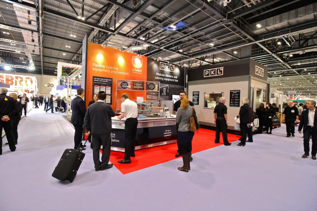 PKL and U-Select stand at Hotelympia