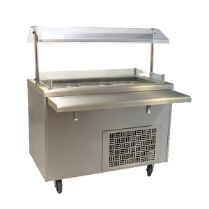 Commercial serving and dining equipment for hire