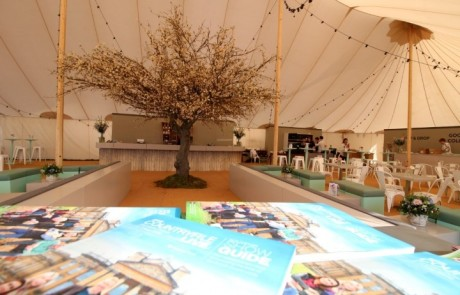 Restaurant Area at Countryfile Live