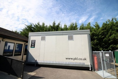 PKL Temporary Kitchen at Oxford United