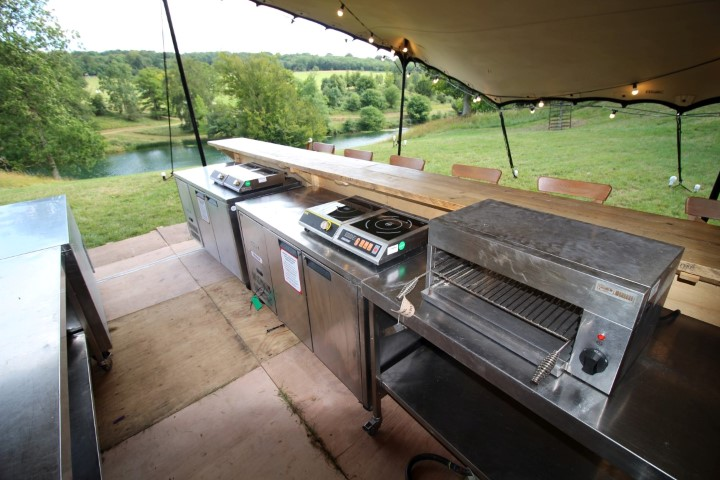 Temporary Event Kitchens at Wilderness