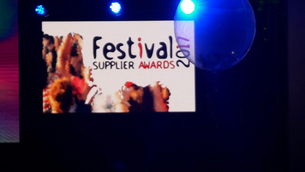 Festival Supplier Awards 2017