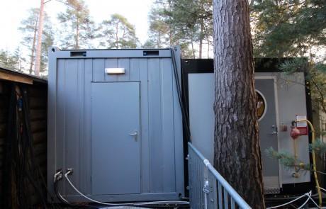 PKL temporary kitchen units at Lapland UK