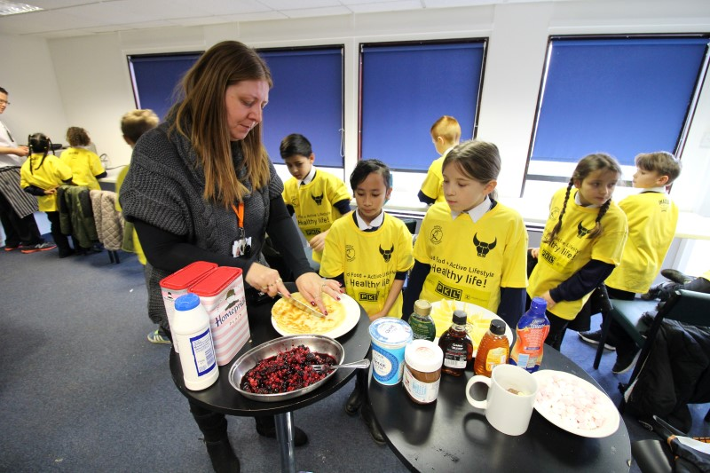 Training and nutrition day at Oxford United