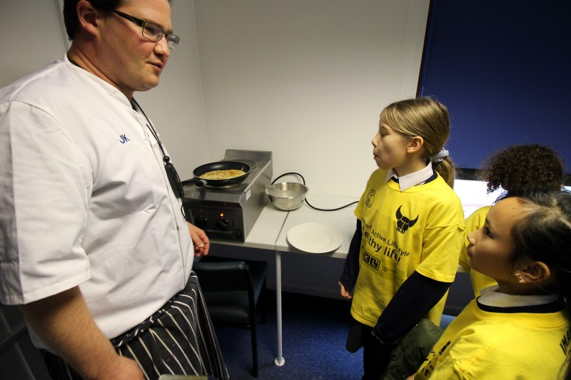 Training and Nutrition Day at OUFC