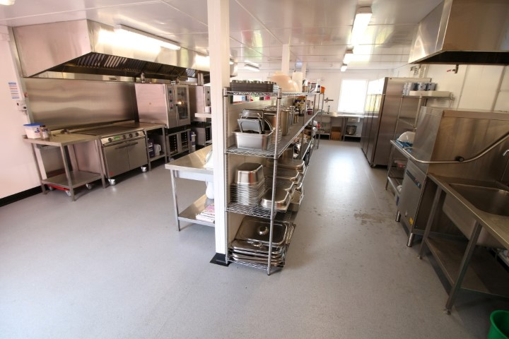 Coningsby Big Red Kitchen