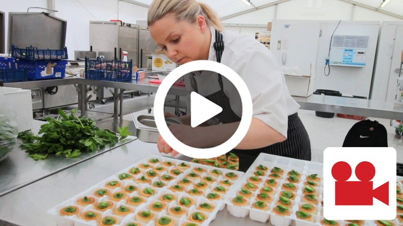 South of England Agricultural Show Temporary Kitchen Case Study