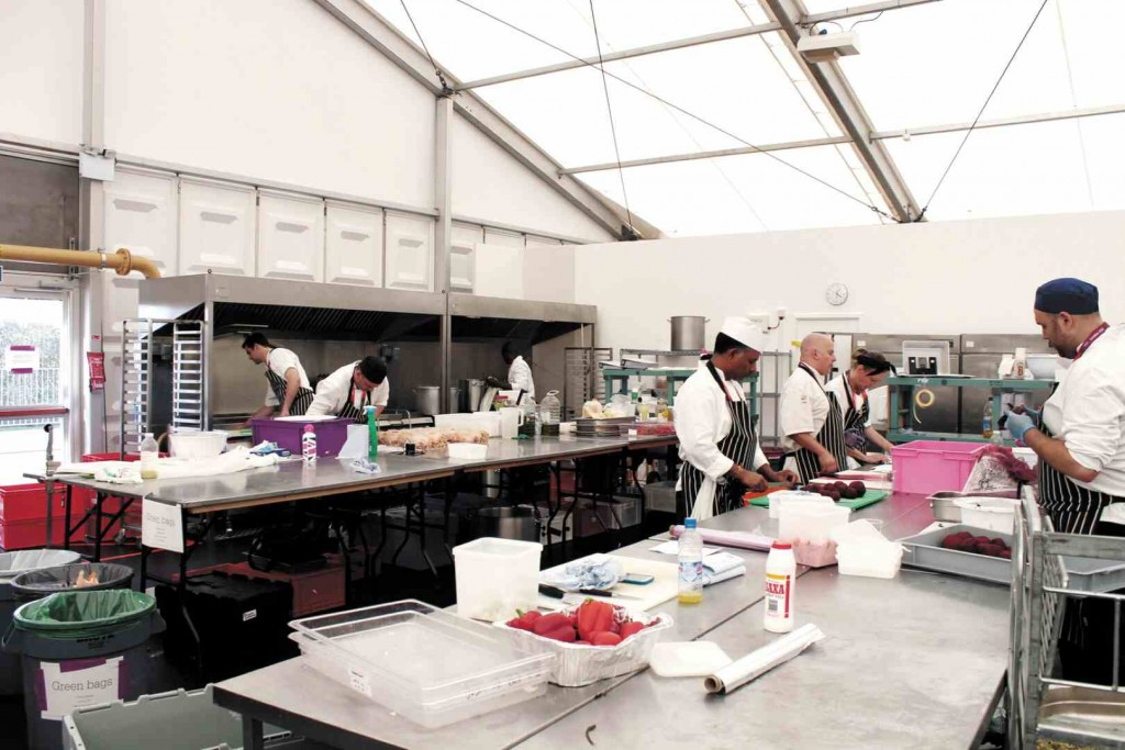 Temporary Catering Facilities London Hospitality Centre