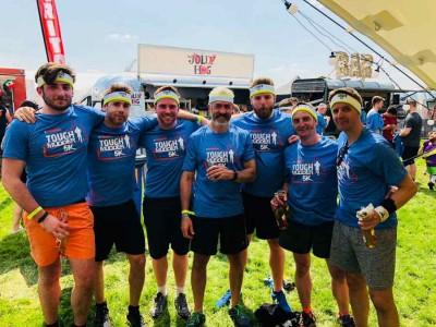 PKL team at Tough Mudder