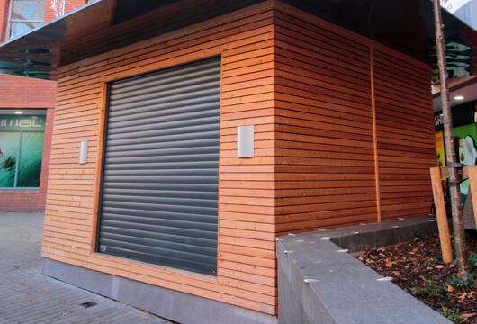 Modular Food Servery Concession and Coffee Kiosk