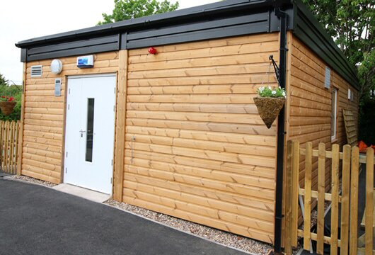 KitchenPod With Wooden Clad Exterior