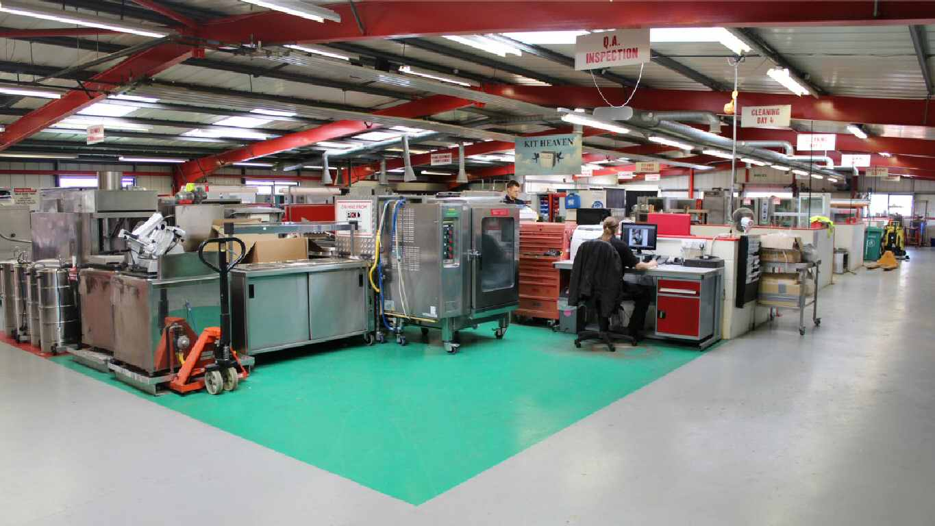 Catering equipment test and inspection centre
